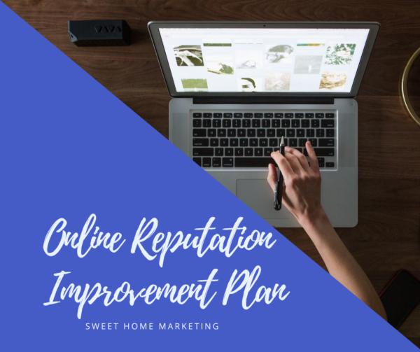 online reputation improvement plan