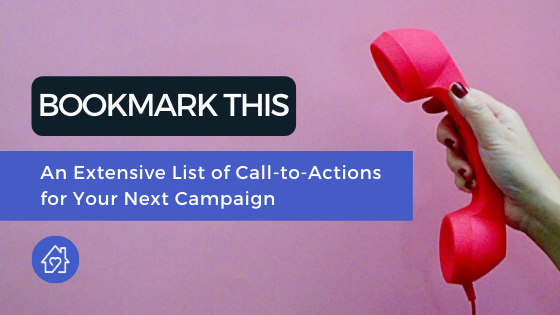 Extensive List of Call to Action for Campaigns