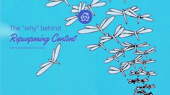 The why behind repurposing content